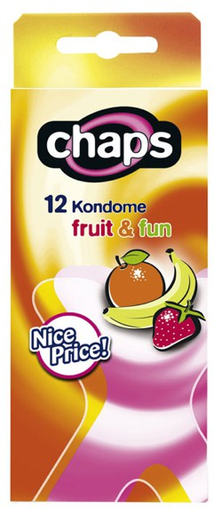 chaps fruit & fun (12 Kondome)