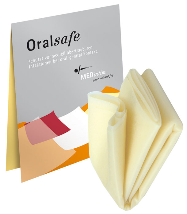 Kessel Oral Safe - Vanille (8 Latextücher) bei netCondom.de