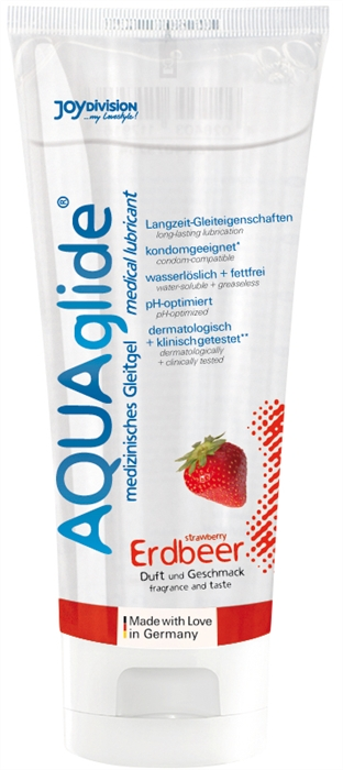 Aquaglide Erdbeer (100 ml)