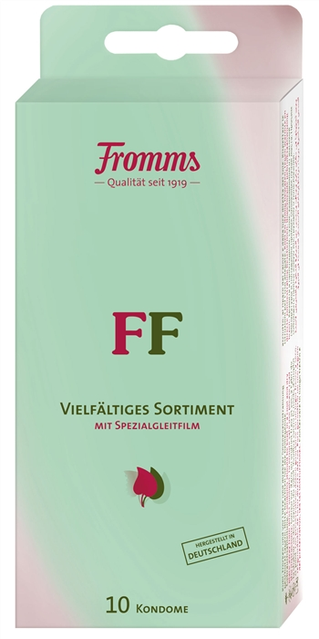 FF Vielfältiges Sortiment (10 Kondome)