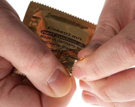 Benutzen kondom ▷ Die